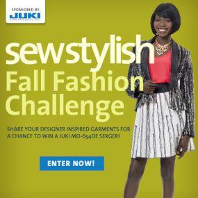 sew stylish fall challenge
