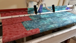 Long Arm Quilt Back
