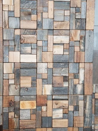 Wood Wall at Restaurant