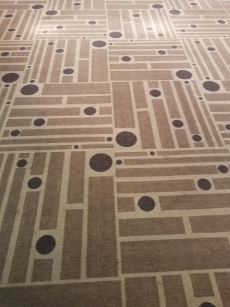 Carpet at QuiltCon